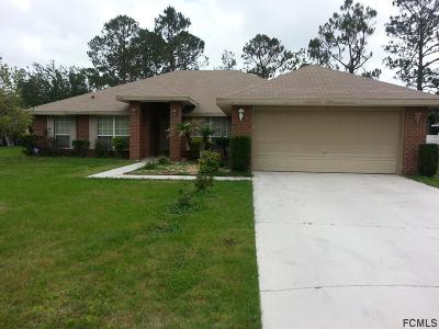 Palm Coast Single Family Home For Sale: 1 N Round Mill Lane