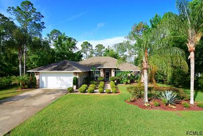 Palm Coast FL Single Family Home For Sale: $289,900