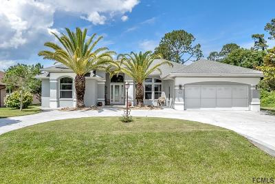 Palm Coast Single Family Home For Sale: 9 Bird Land Pl
