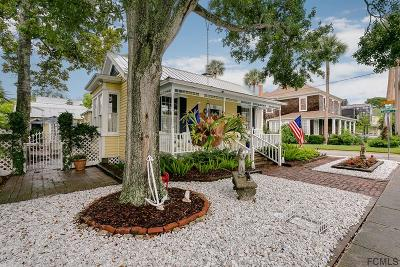St Augustine Single Family Home For Sale: 60 Water St