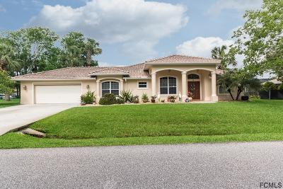 Palm Coast Single Family Home For Sale: 12 Crossview Lane