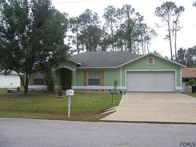 Palm Coast Single Family Home For Sale: 22 Reinhardt Ln
