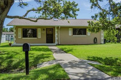 Flagler Beach Single Family Home For Sale: 1227 S Flagler Ave S