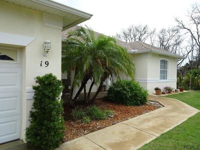 Palm Coast Single Family Home For Sale: 19 Atlantic Dr