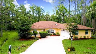 Palm Coast FL Single Family Home For Sale: $239,000