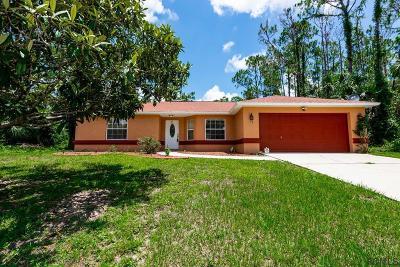 Palm Coast FL Single Family Home For Sale: $165,000