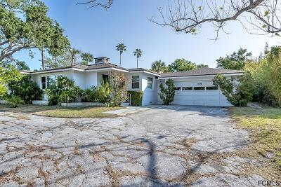Ormond Beach Single Family Home For Sale: 195 S Halifax Drive