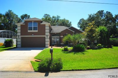 Palm Coast Single Family Home For Sale: 3 Sea Board Court