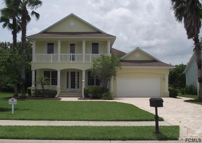 Palm Coast Plantation Single Family Home For Sale: 20 Emerald Lake Court