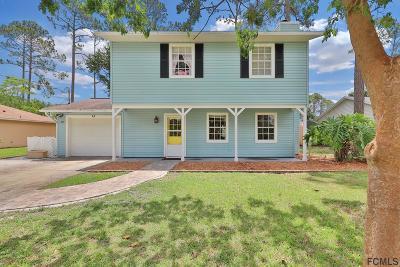 Palm Coast FL Single Family Home For Sale: $178,900