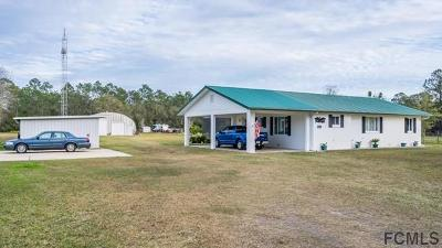 Bunnell Single Family Home For Sale: 4843 Cr 305