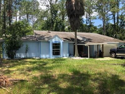 Bunnell Single Family Home For Sale: 1318 Hazelnut Street