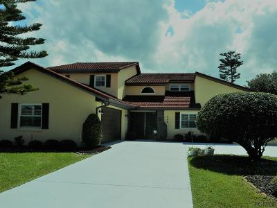Flagler Beach Single Family Home For Sale: 240 Ocean Palm Drive
