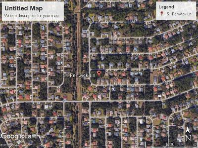 Palm Harbor Residential Lots & Land For Sale: 51 Fenwick Ct