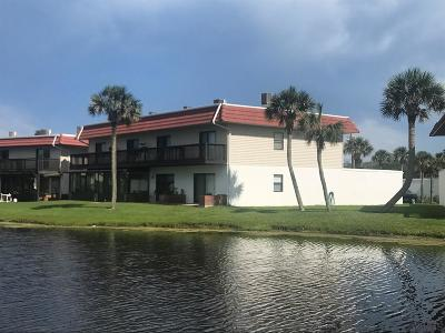 Flagler Beach Condo/Townhouse For Sale: 25 Ocean Palm Villas N #25