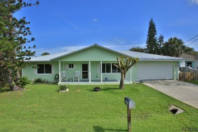 Flagler Beach FL Single Family Home For Sale: $325,000