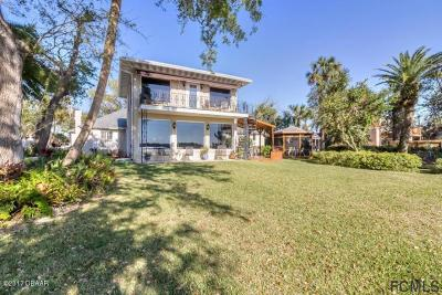 Ormond Beach Single Family Home For Sale: 596 Riverside Dr