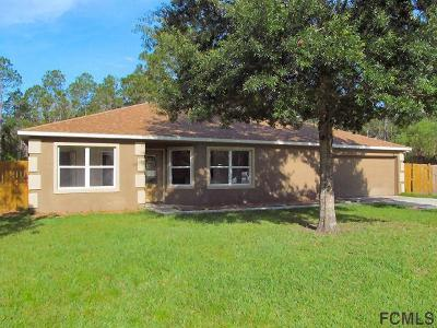 Palm Coast Single Family Home For Sale: 15 E Seward Trail