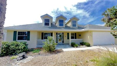 Flagler Beach Single Family Home For Sale: 617 Cumberland Dr