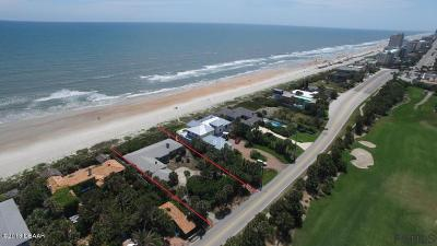 Ormond Beach Single Family Home For Sale: 135 Ocean Shore Blvd