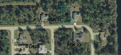 Matanzas Woods Residential Lots & Land For Sale: 92 Lynbrook Drive