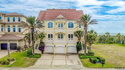 Beverly Beach, Flagler Beach, Palm Coast Single Family Home For Sale: 21 Ocean Ridge Blvd S