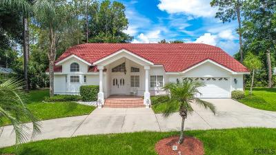 Flagler County Single Family Home For Sale: 14 Woodguild Place