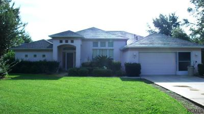 Palm Coast Single Family Home For Sale: 10 Waldron Place