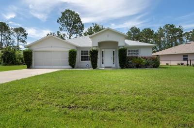 Palm Coast Single Family Home For Sale: 13 Edgely Ln