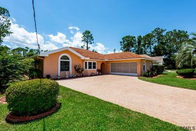 Palm Coast Single Family Home For Sale: 11 Woodlyn Lane