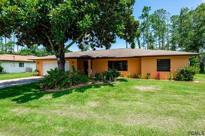 Palm Coast Single Family Home For Sale: 44 Wellshire Lane