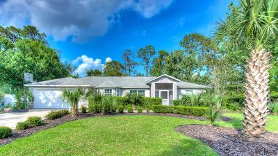 Palm Coast FL Single Family Home For Sale: $244,900