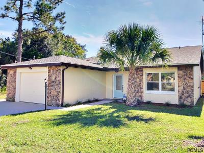Flagler County Single Family Home For Sale: 89 Covington Lane
