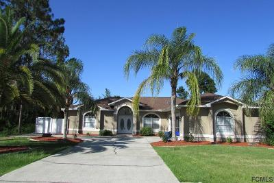 Flagler County Single Family Home For Sale: 90 Burning Bush Dr