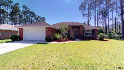 Palm Coast FL Single Family Home For Sale: $260,000