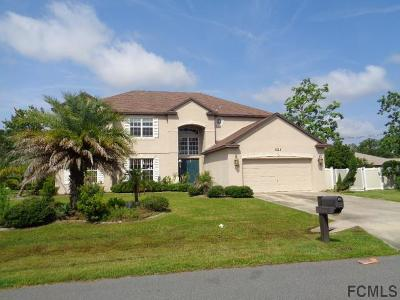 Palm Coast FL Single Family Home For Sale: $272,480