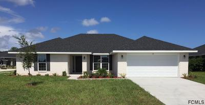 Flagler County Single Family Home For Sale: 22 Eagle Lake Dr