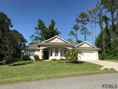 Palm Coast Single Family Home For Sale: 7 Becket Ln