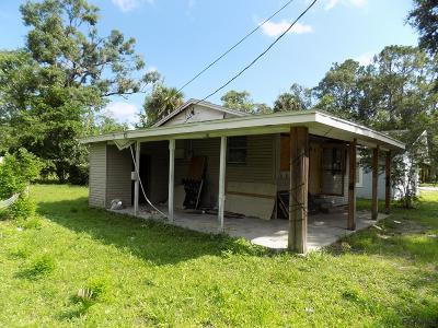 Bunnell Single Family Home For Sale: 304 E Booe St E