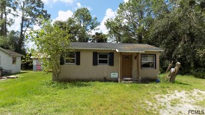 Bunnell Single Family Home For Sale: 507 S Anderson St S