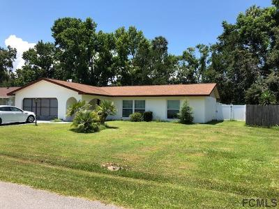 Palm Coast Single Family Home For Sale: 38 Blakemore Drive