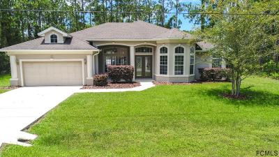 Palm Coast Single Family Home For Sale: 11 Rydell Lane