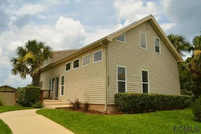 Flagler Beach Single Family Home For Sale: 1536 S Central Ave