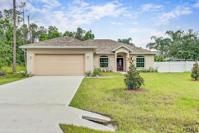 Palm Coast Single Family Home For Sale: 8 Renmont Court