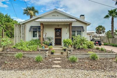 Flagler Beach Single Family Home For Sale: 211 N 5th St