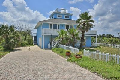 Flagler Beach Single Family Home For Sale: 2724 N Ocean Shore Blvd