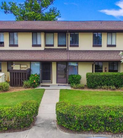 Palm Coast Condo/Townhouse For Sale: 52 Club House Dr #106