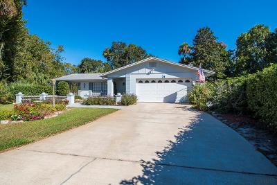Palm Coast Single Family Home For Sale: 74 Courtney Place