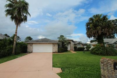 Palm Coast Single Family Home For Sale: 38 Weller Lane