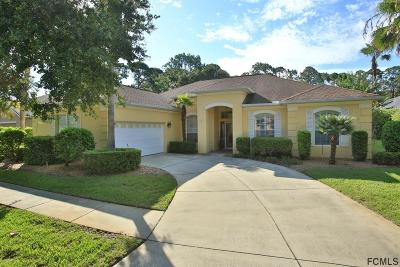 Palm Coast Single Family Home For Sale: 12 Augusta Trail